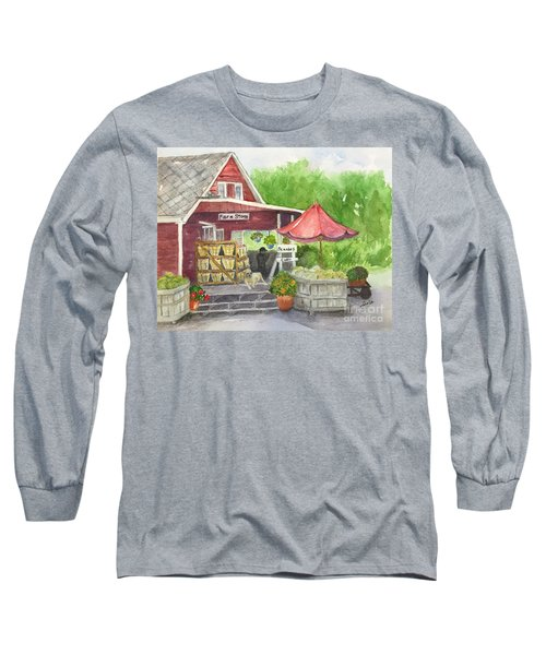 Country Farmer's Market Long Sleeve T-Shirt