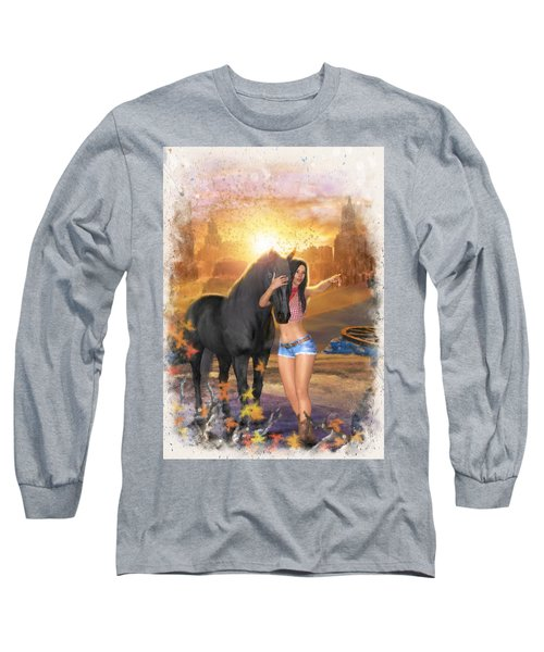 Country Memories 2 Long Sleeve T-Shirt