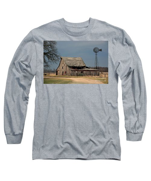 Country Roof Collapse Long Sleeve T-Shirt