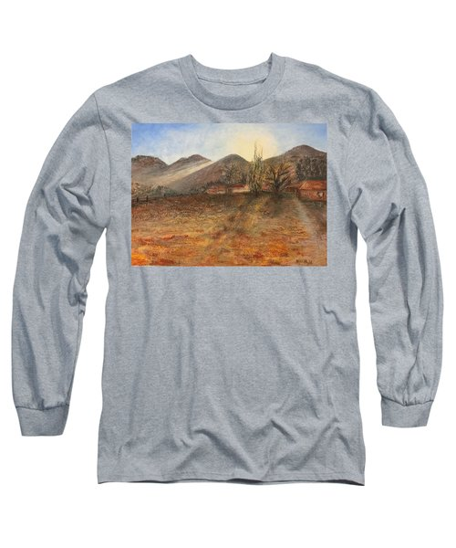 Country Sunset Long Sleeve T-Shirt