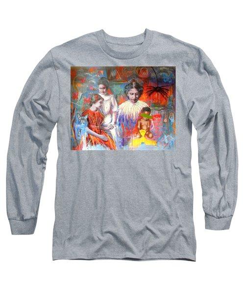 Courage- Large Work Long Sleeve T-Shirt