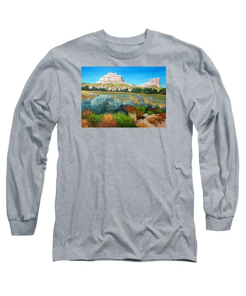 Courthouse And Jail Rocks 2 Long Sleeve T-Shirt