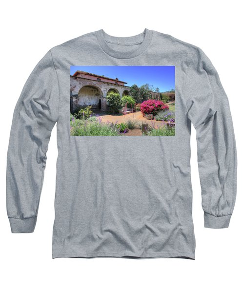 Courtyard Garden Long Sleeve T-Shirt