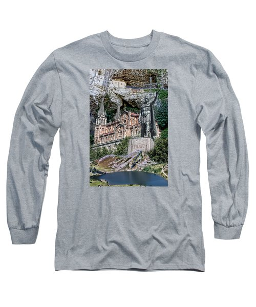Covadonga Long Sleeve T-Shirt by Angel Jesus De la Fuente