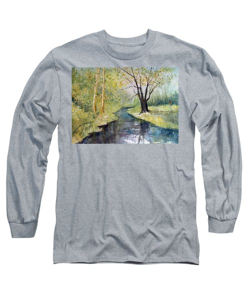 Covered Bridge Park Long Sleeve T-Shirt
