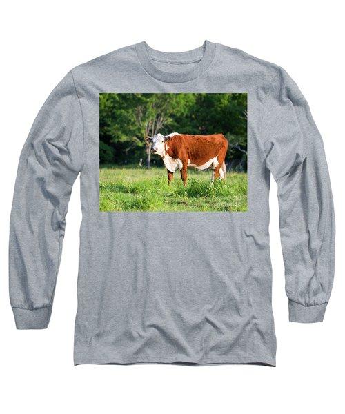 Cow #1 Long Sleeve T-Shirt