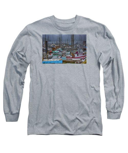 Cow Bay Commercial Fishing Boats Long Sleeve T-Shirt