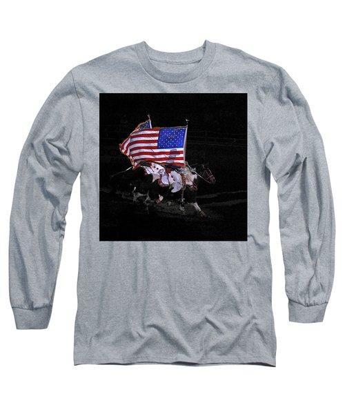 Cowboy Patriots Long Sleeve T-Shirt