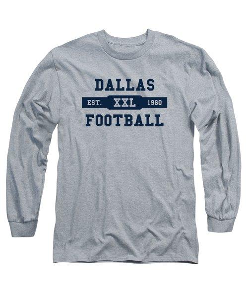 Cowboys Retro Shirt Long Sleeve T-Shirt by Joe Hamilton