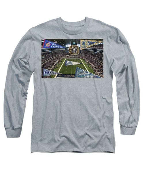 Cowboys Super Bowls Long Sleeve T-Shirt