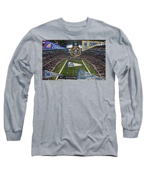 Cowboys Super Bowls Long Sleeve T-Shirt
