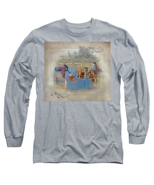 Cowgirl Spa 5p Of 6 Long Sleeve T-Shirt