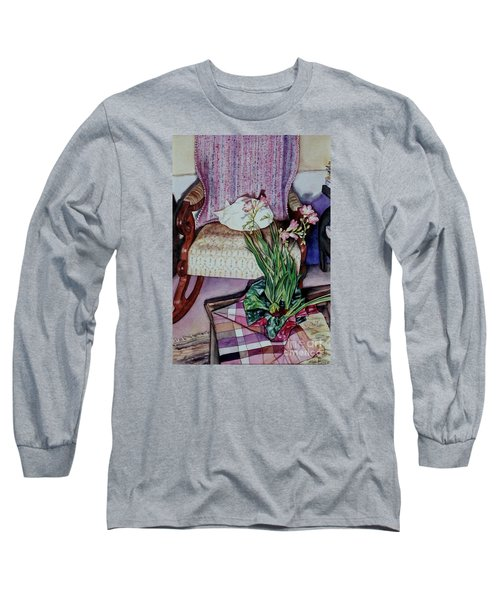 Cozy Kitty Long Sleeve T-Shirt