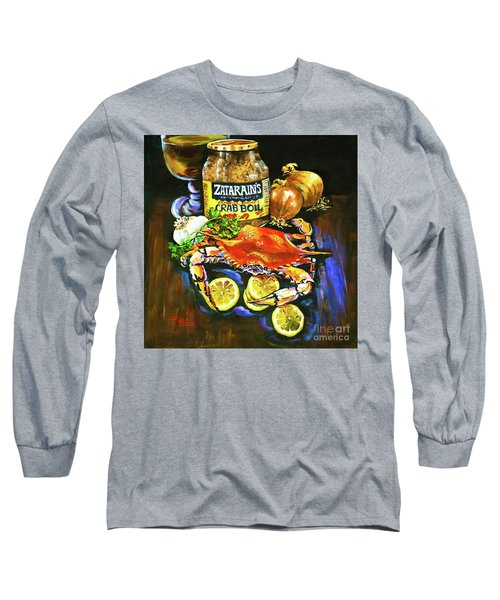 Crab Fixin's Long Sleeve T-Shirt