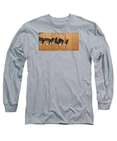 Cranes Long Sleeve T-Shirt