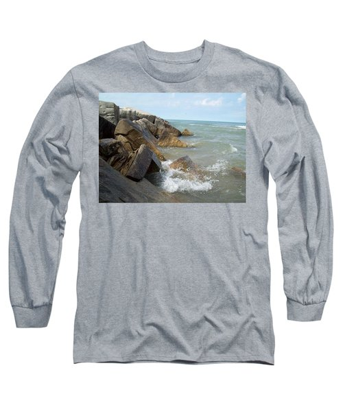 Crashing Beauty Long Sleeve T-Shirt