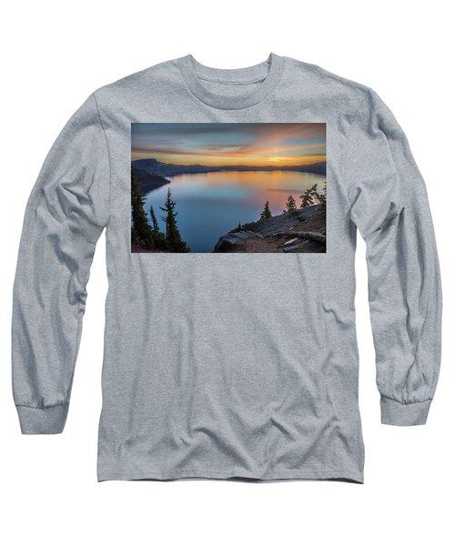 Crater Lake Morning No. 1 Long Sleeve T-Shirt