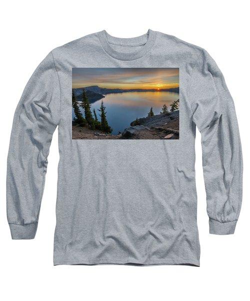Crater Lake Morning No. 2 Long Sleeve T-Shirt