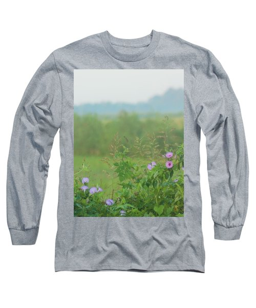 Long Sleeve T-Shirt featuring the photograph Crawfish And Rice Fields Of Dreams by John Glass