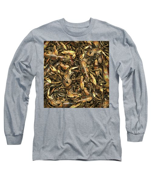 Crayfish Long Sleeve T-Shirt by James Larkin