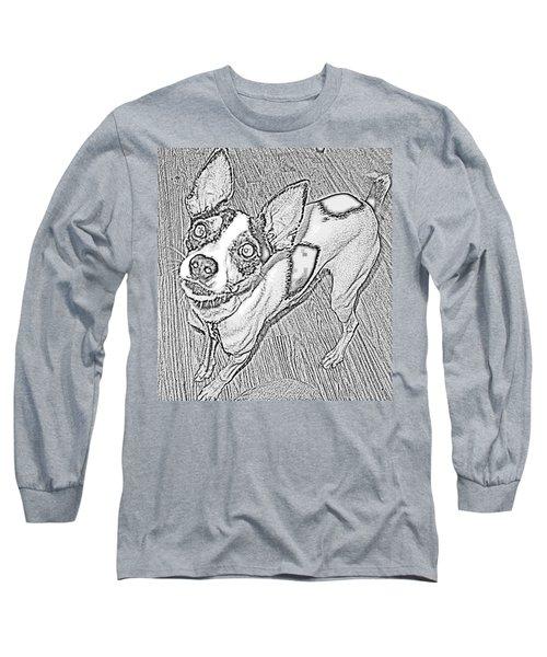 Crazy Frida Long Sleeve T-Shirt