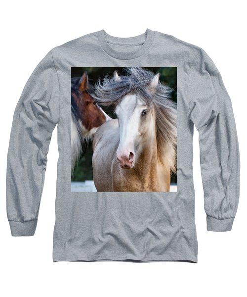 Crazy Hair Long Sleeve T-Shirt by Sharon Jones