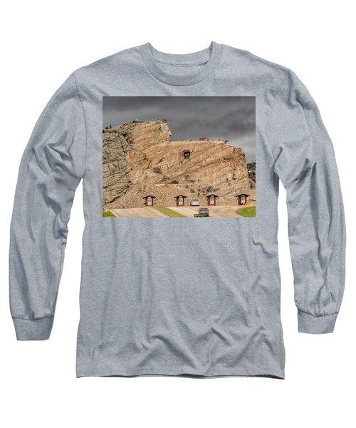 ...entrance Crazy Horse Memorial South Dakota.... Long Sleeve T-Shirt