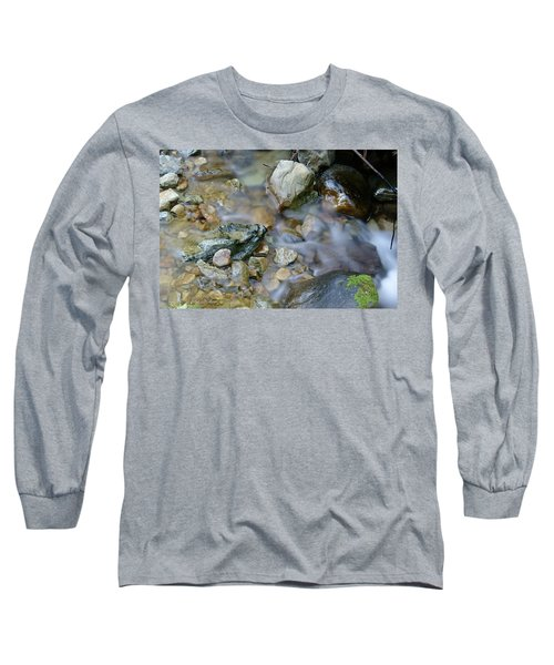 Creek On Mt Tamalpais Long Sleeve T-Shirt
