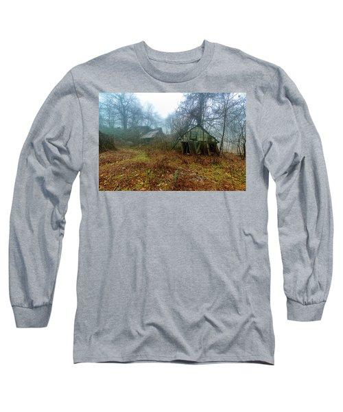 Creepy House Long Sleeve T-Shirt