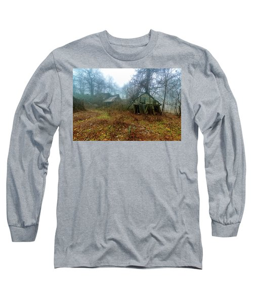 Creepy House Long Sleeve T-Shirt