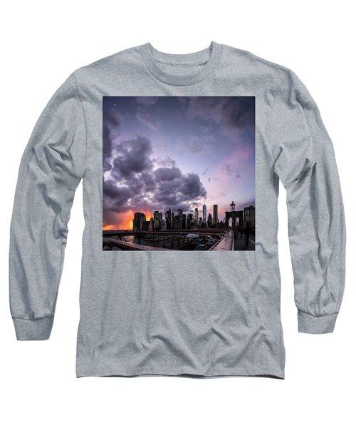 Crepsucular Nights Long Sleeve T-Shirt