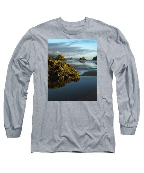 Crescent Beach Long Sleeve T-Shirt