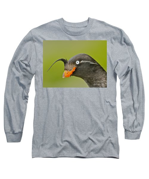 Crested Auklet Long Sleeve T-Shirt