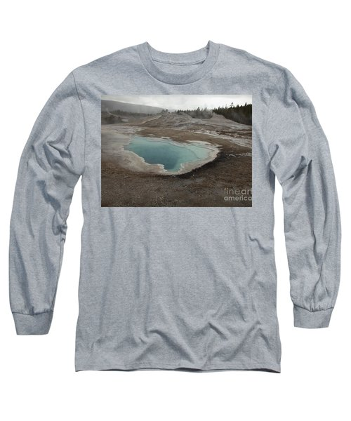 Crested Pool, Upper Geyser Basin, Yellowstone Long Sleeve T-Shirt