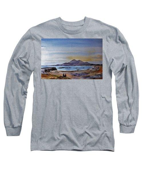 F801  Croagh Patrick From Old Head, Mayo Long Sleeve T-Shirt