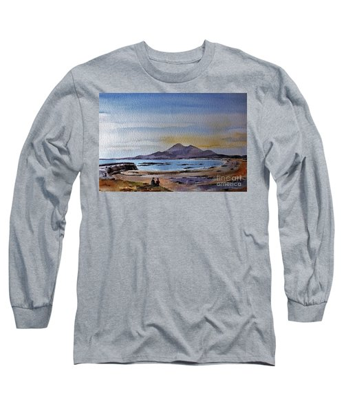 F801  Croagh Patrick From Old Head, Mayo Long Sleeve T-Shirt
