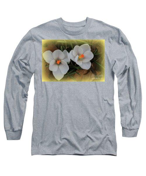 Crocuses Long Sleeve T-Shirt
