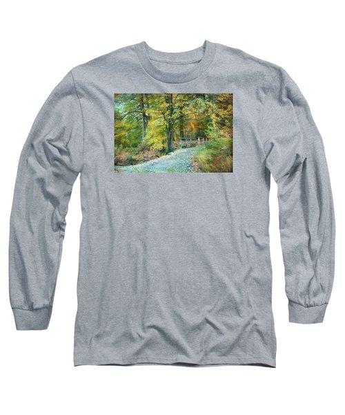 Cross Over The Wooden Bridge Long Sleeve T-Shirt