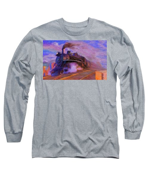 Crossing Rails Long Sleeve T-Shirt