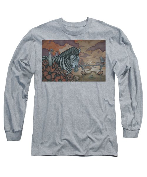 Crossing The Mara Long Sleeve T-Shirt by Andrew Batcheller