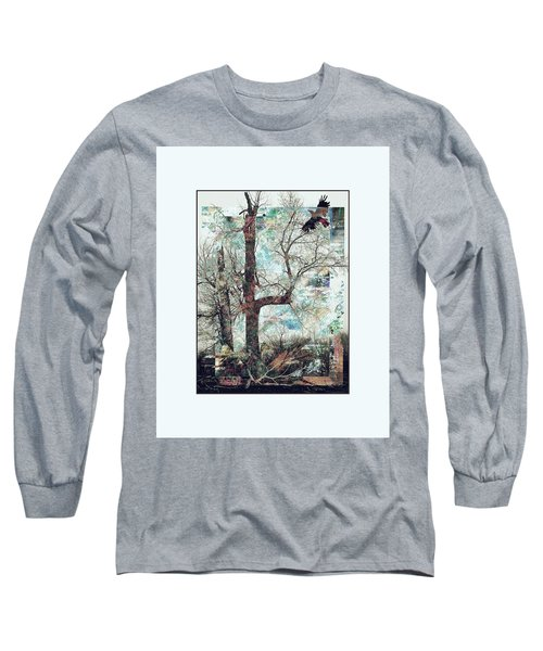 Crow At Ten Mile Creek Long Sleeve T-Shirt