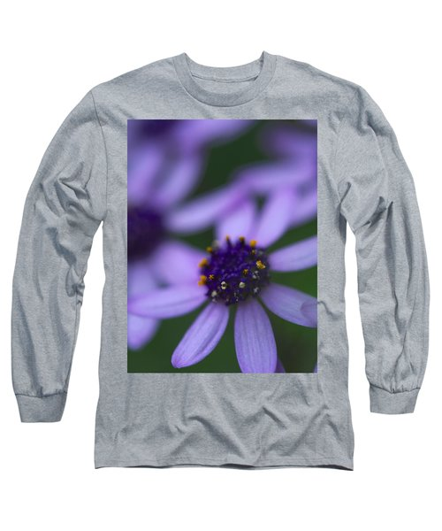 Crowned With Purple Long Sleeve T-Shirt