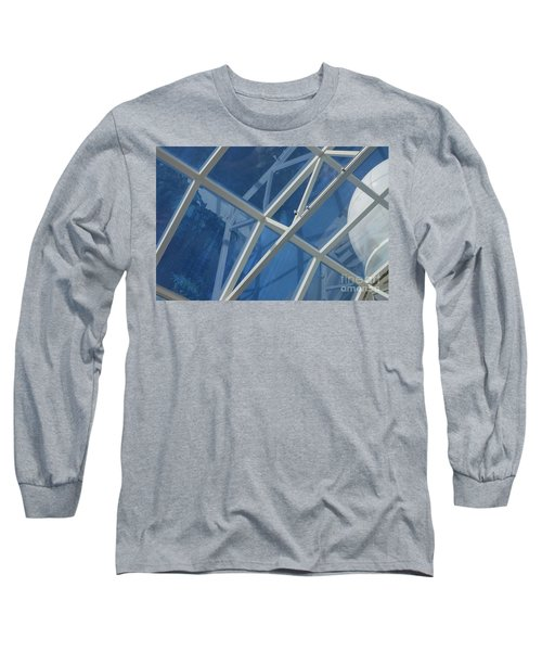 Cruise Ship Abstract Girders And Dome 2 Long Sleeve T-Shirt