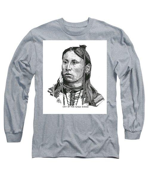 Cryofthewildgoose Long Sleeve T-Shirt