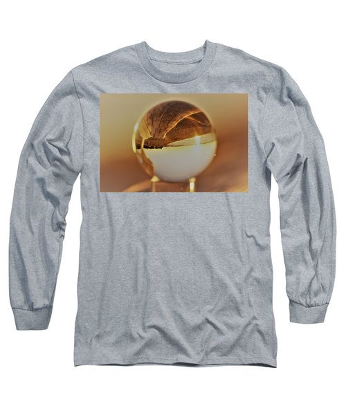 Crystal Beach Ball Long Sleeve T-Shirt