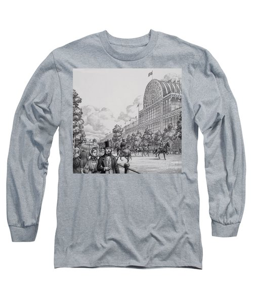 Crystal Palace Long Sleeve T-Shirt by Pat Nicolle