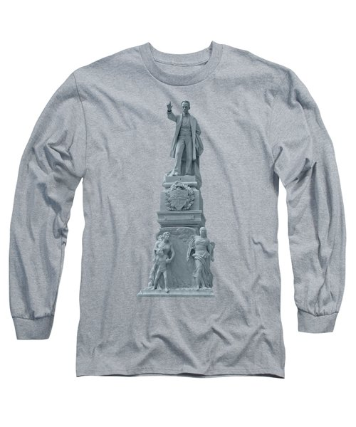 Cuba G Statue Long Sleeve T-Shirt