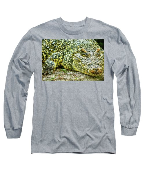 Cuban Croc Long Sleeve T-Shirt