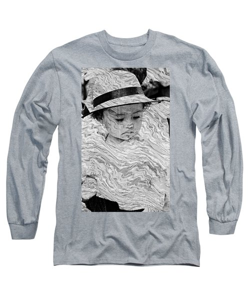 Long Sleeve T-Shirt featuring the photograph Cuenca Kids 894 by Al Bourassa