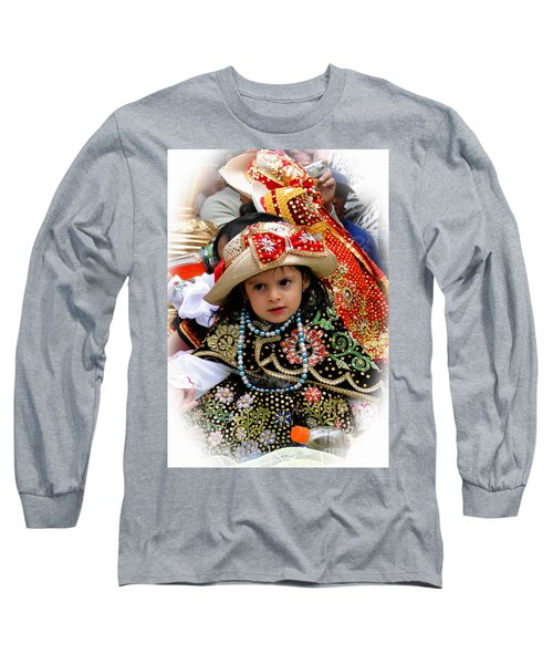 Long Sleeve T-Shirt featuring the photograph Cuenca Kids 900 by Al Bourassa